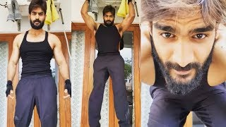 Hero Karthikeya Workout Video | #StayAtHome Challenge | Tollywood Updates - RAJSHRITELUGU