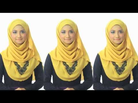 Shawlbyvsnow : Hijab Tutorial 1 with VS Essential Scarf