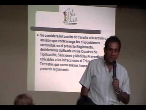 INFRACCIONES DE TRANSITO PERU