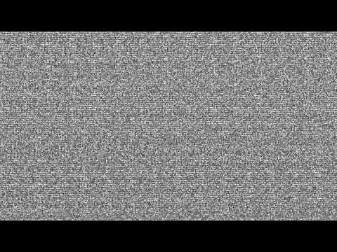 TV static noise HD 1080p -_1tgGPyoUc0