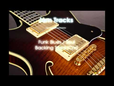 Blues Funk / Soul Backing Track (Gm)