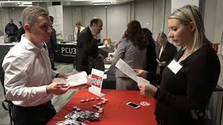A Silicon Valley Job Fair Caters to New Immigrants and Refugees - VOAVIDEO