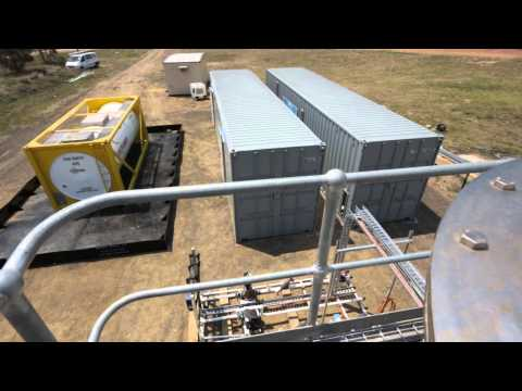 Associated Water Mobile Water Treatment Plant