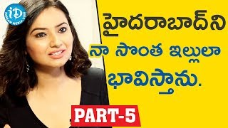 Actress & Social Activist Isha chawla Interview Part #5 || Face To Face With iDream Nagesh - IDREAMMOVIES