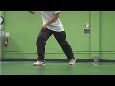 Badminton : Basic Footwork for Badminton Beginners