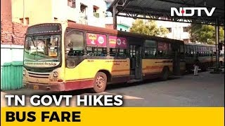 Tamil Nadu Hikes Bus Fares After Six Years, Says Move Inevitable - NDTV