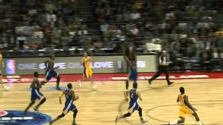 Nick Young Finishes Big Alley Oop From Steve Blake