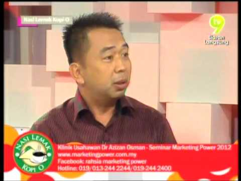 Dr.Azizan Osman Bersama Peserta Marketing Power