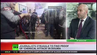 'Whole Douma story was staged': Journos struggle to find proof of 'chemical attack' - RUSSIATODAY
