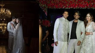 Allu Arjun At Hero Arya & Sayesha Wedding Reception | Allu Arjun - RAJSHRITELUGU