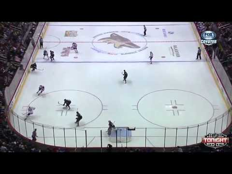 #89 Mikkel Boedker (first) Goal vs. Los Angeles Kings March 12, 2013 NHL