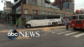 3 dead after buses collide in Queens in New York - ABCNEWS