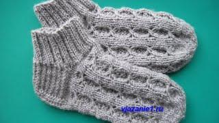 Как вязать носки. Вязание спицами. Часть первая
