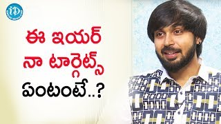 Not Have A Resolution Is A Resolution - Actor Maanas | Talking Movies With iDream | Deeksha Sid - IDREAMMOVIES