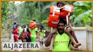 🇮🇳 Kerala faces massive flood in 100 years | Al Jazeera English - ALJAZEERAENGLISH
