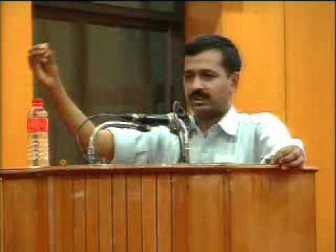 Part 4: Arvind Kejriwal @ IIT Chennai - 31st July 2011