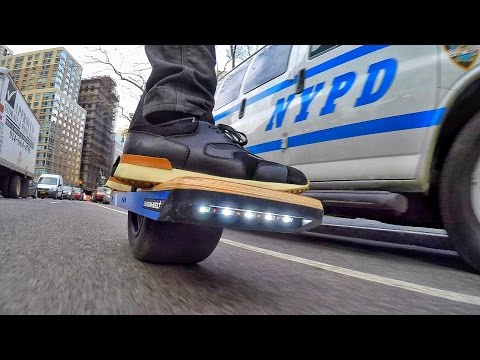 Hi-Speed Hoverboard & the NYPD