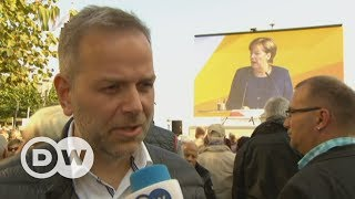 AfD's Leif-Erik Holm challenges Angela Merkel | DW English - DEUTSCHEWELLEENGLISH