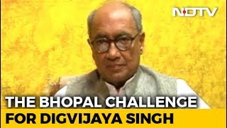 "Digvijaya Singh To Contest From Bhopal After ""Toughest Seat"" Challenge - NDTV"