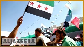 Protests held in Idlib demanding Assad leaves power | Al Jazeera English - ALJAZEERAENGLISH