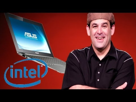 Intel Meets Kinect with the Ultrabook! - CES 2012