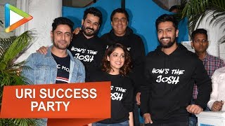 URI SUCCESS PARTY | Vicky Kaushal | Yami Gautam | Radhika Apte | Farah Khan - HUNGAMA
