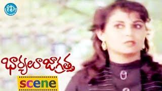 Bharyalu Jagratha Movie Scenes - Rahman Comes To Know About Geeta's Reality || Janagaraj - IDREAMMOVIES