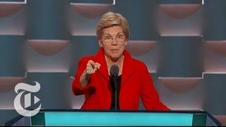 Elizabeth Warren Speaks at DNC - THENEWYORKTIMES