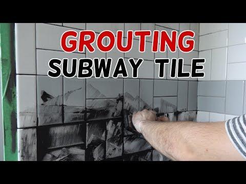 Basketweave subway tile