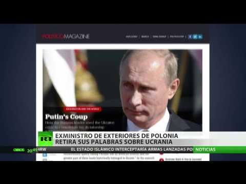 Exministro de Exteriores de Polonia retira sus palabras sobre Ucrania