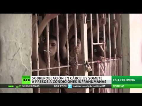 Presos de cárceles colombianas: condenados a muerte en caso de incendio