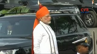 72nd Independence Day | PM Modi Receives Guard Of Honor At Red Fort In Delhi | CVR News - CVRNEWSOFFICIAL