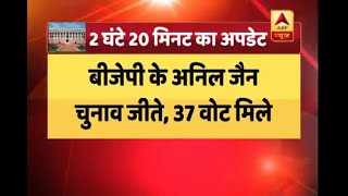 Rajya Sabha Elections: BJP's Anil Jain wins in UP - ABPNEWSTV