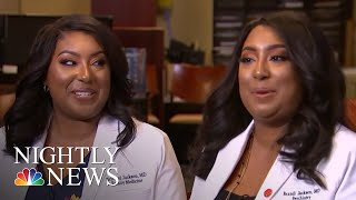 Twin Doctors Hope To Change The Face Of Medicine | NBC Nightly News - NBCNEWS