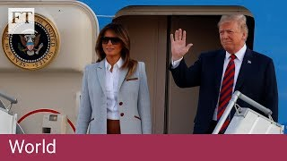 Donald Trump lands in Helsinki for talks with Vladimir Putin - FINANCIALTIMESVIDEOS