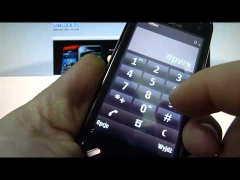 Jak wpisać kod unlock w Nokii N97 mini