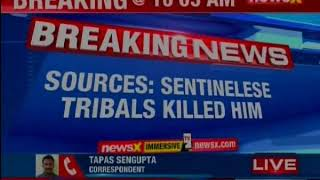 American National killed by hostile Sentinelese tribe in Andamans - NEWSXLIVE
