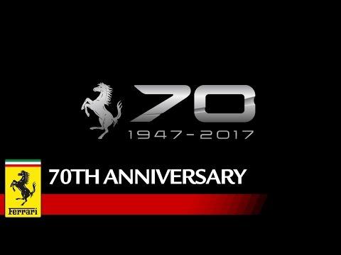 Видео: Ferrari празднует 70-летний юбилей