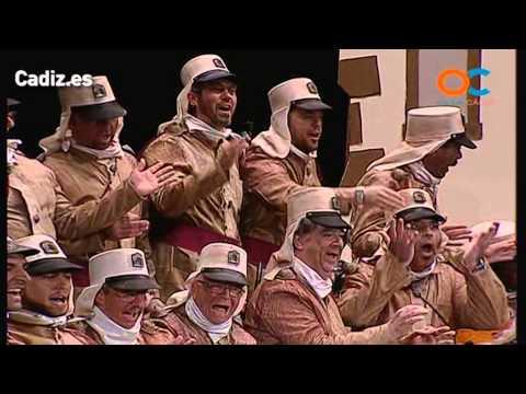 Sesión de Preliminares, la agrupación La legión extranjera actúa hoy en la modalidad de Coros.