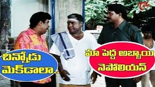 మా పెద్ద అబ్బాయి నెపోలియన్.. చిన్నోడు మెక్ డాలా.. | Back to Back Comedy Scenes | NavvulaTV - NAVVULATV