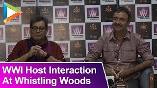 WWI Host Interaction With Rajkumar Hirani And Subhash Ghai At Whistling Woods - HUNGAMA