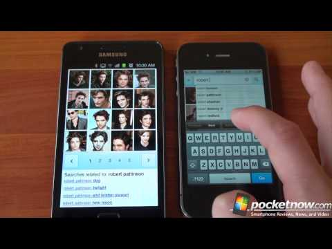iPhone 4 vs Samsung Galaxy S2