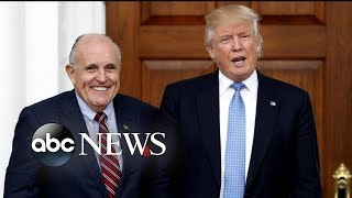 Trump adds former NY Mayor Rudy Giuliani to his legal team - ABCNEWS