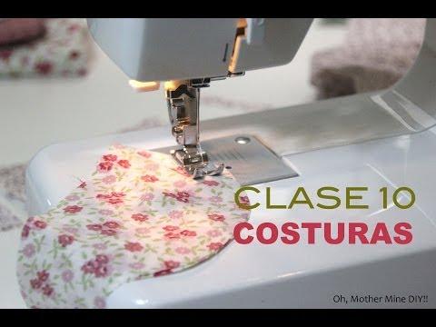 Clase costura 10 Comenzar a coser a máquina
