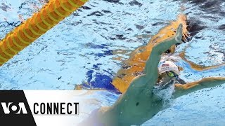 Michael Phelps is saving Water! - VOAVIDEO