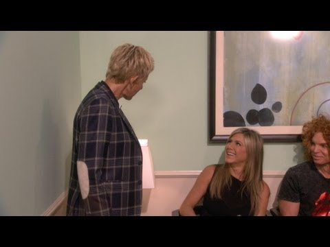 Ellen Goes Behind the Scenes