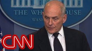 Gen. Kelly speaks at White House (full remarks) - CNN