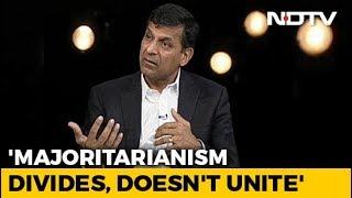 Worry About Majoritarianism: Raghuram Rajan To NDTV - NDTV