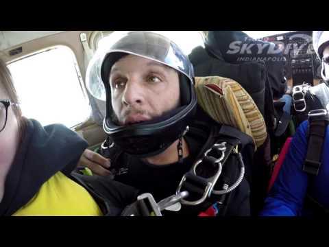 Allison Lipe's Tandem skydive!