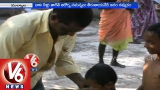 A mystic well which acts as medicine & cures the skin diseases - Karimnagar - V6NEWSTELUGU